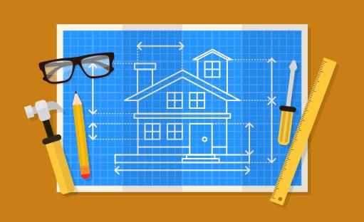 آموزش کاربردی و پروژه محور طراحی پلان منزل مسکونی با اتوکد