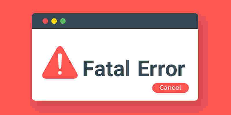 بروز خطای کدنویسی
