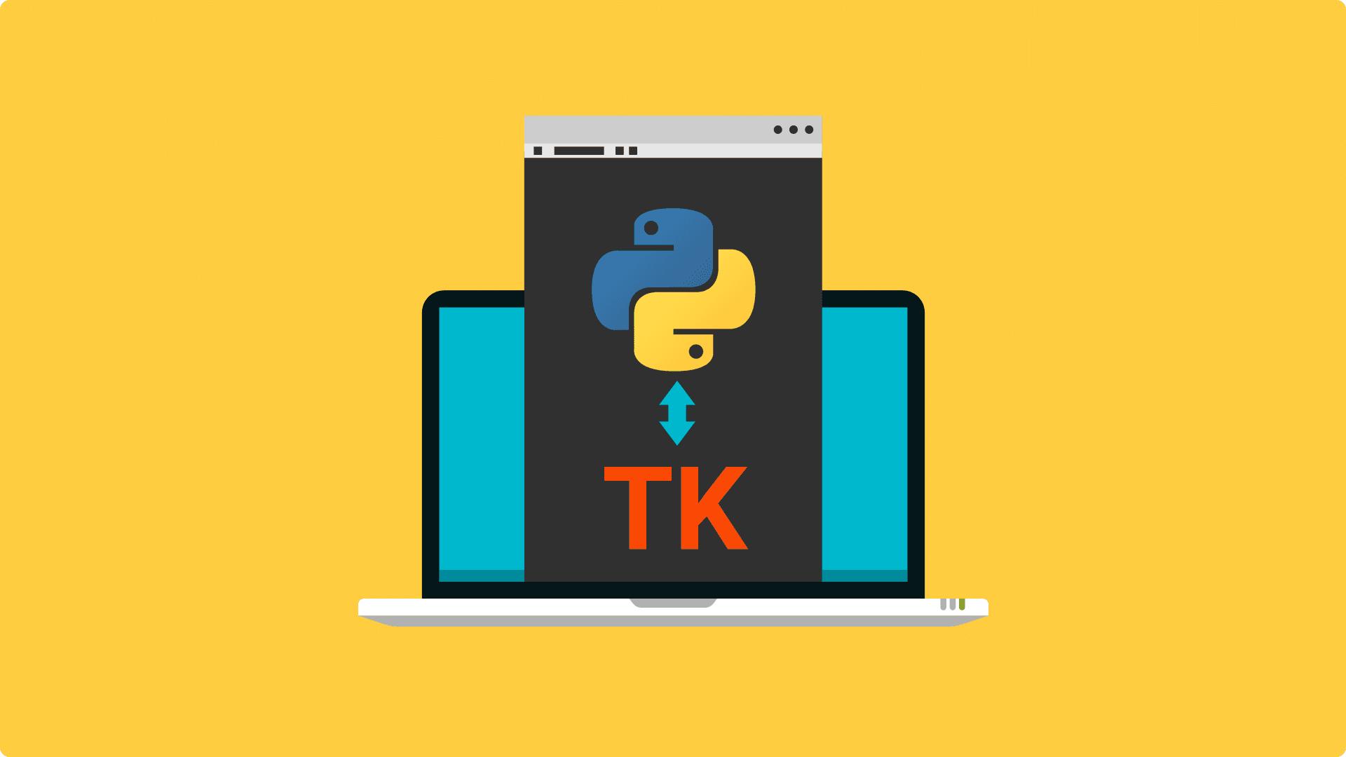 آموزش tkinter در پایتون (Python) – کتابخانه گرافیکی
