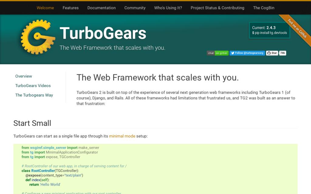 فریم ورک TurboGears