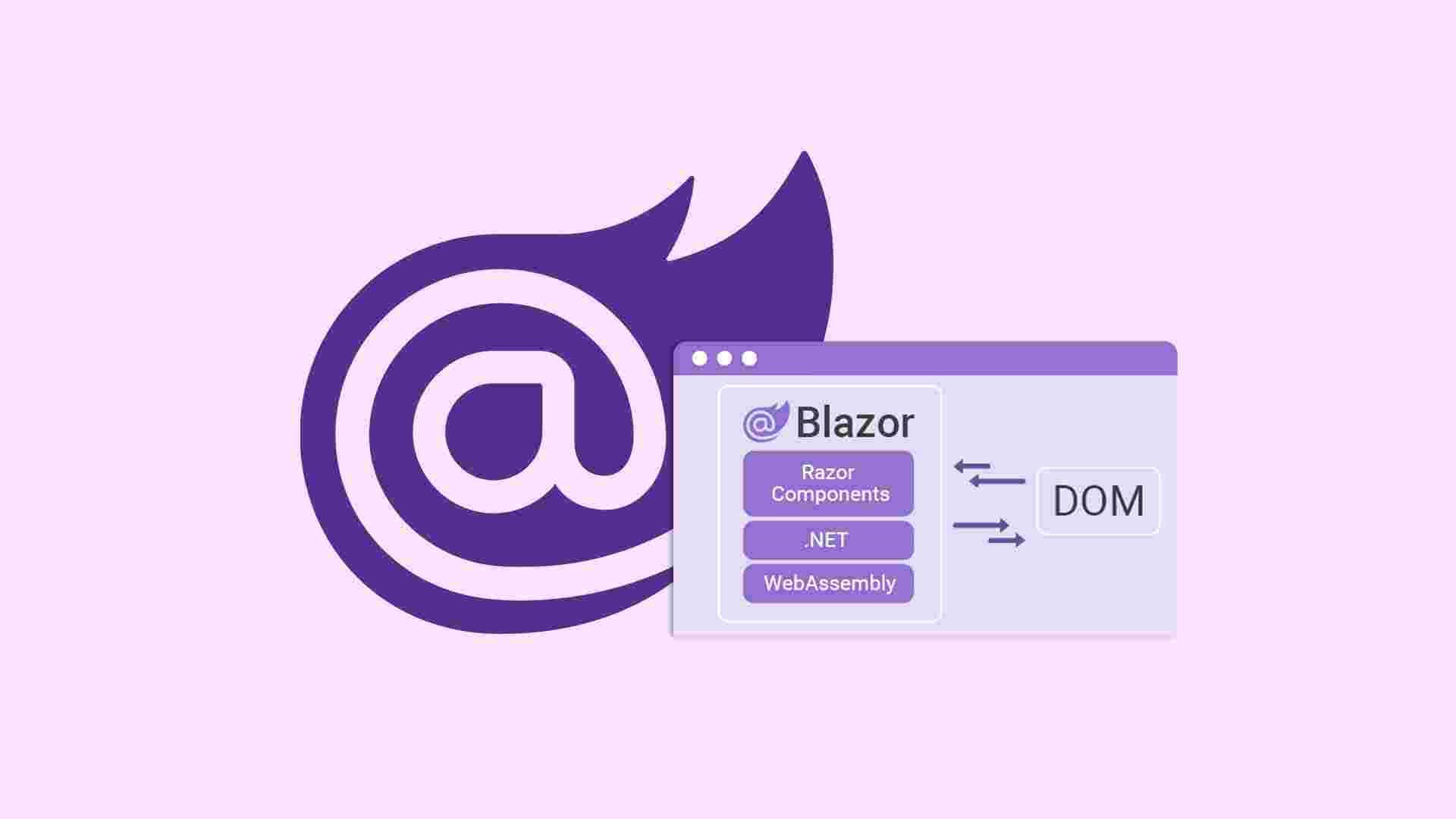 آموزش فریمورک blazor در asp.net core