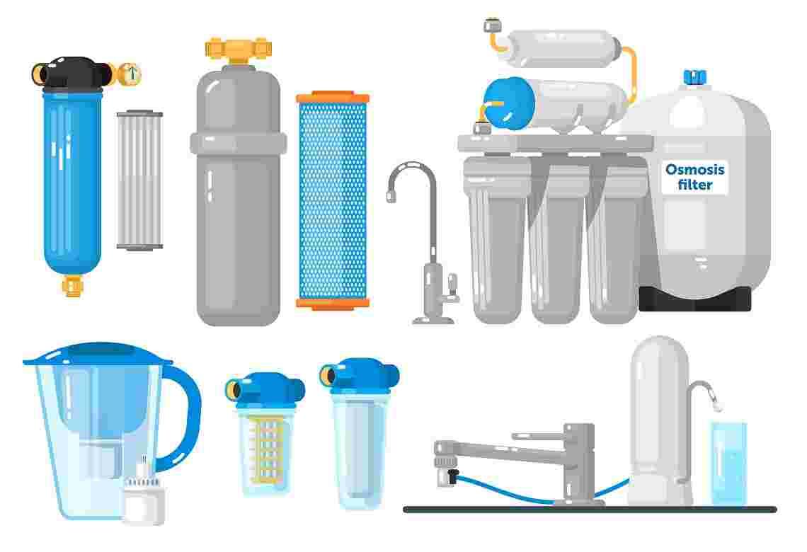مقایسه انواع دستگاه تصفیه آب خانگی