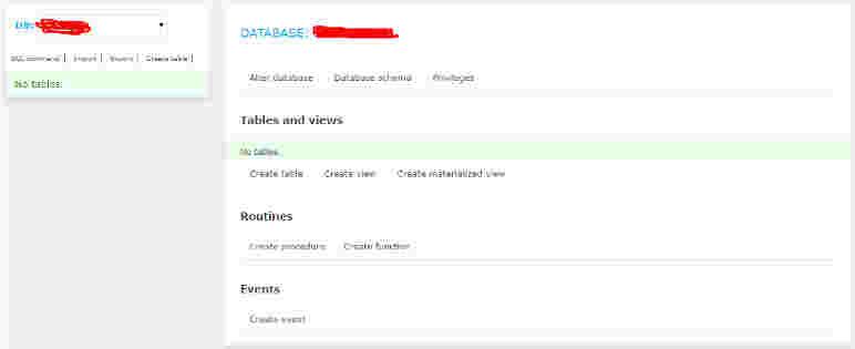 پایگاه داده MySQL در Cloudways Server