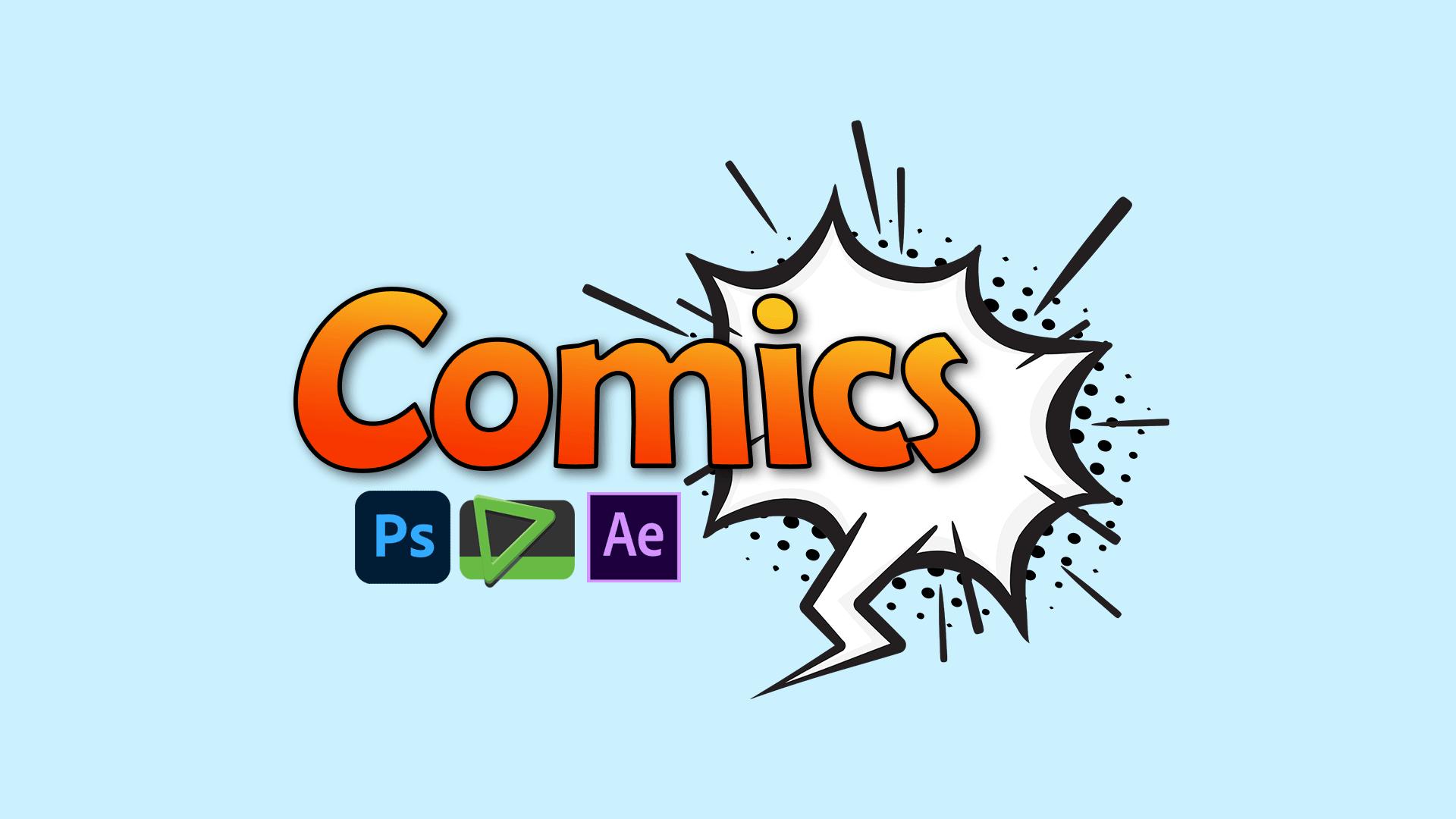 آموزش افتر افکت موشن کمیک (Motion Comic) – صفر تا صد و پروژه محور