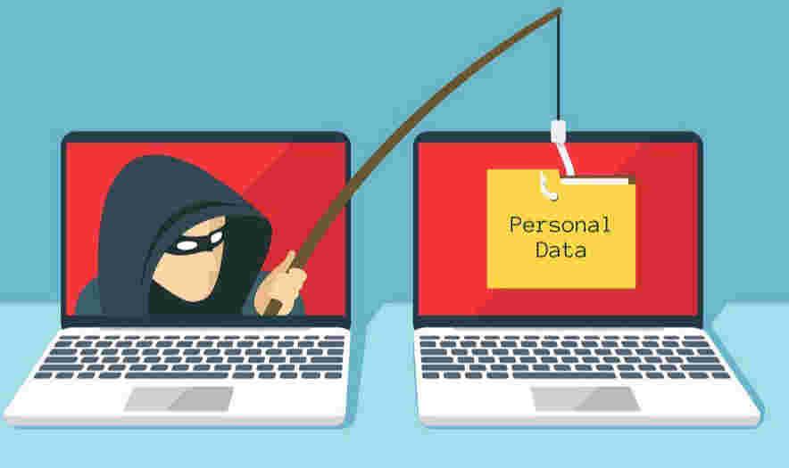 Phishing attacks از مباحث امنیت اینستاگرام