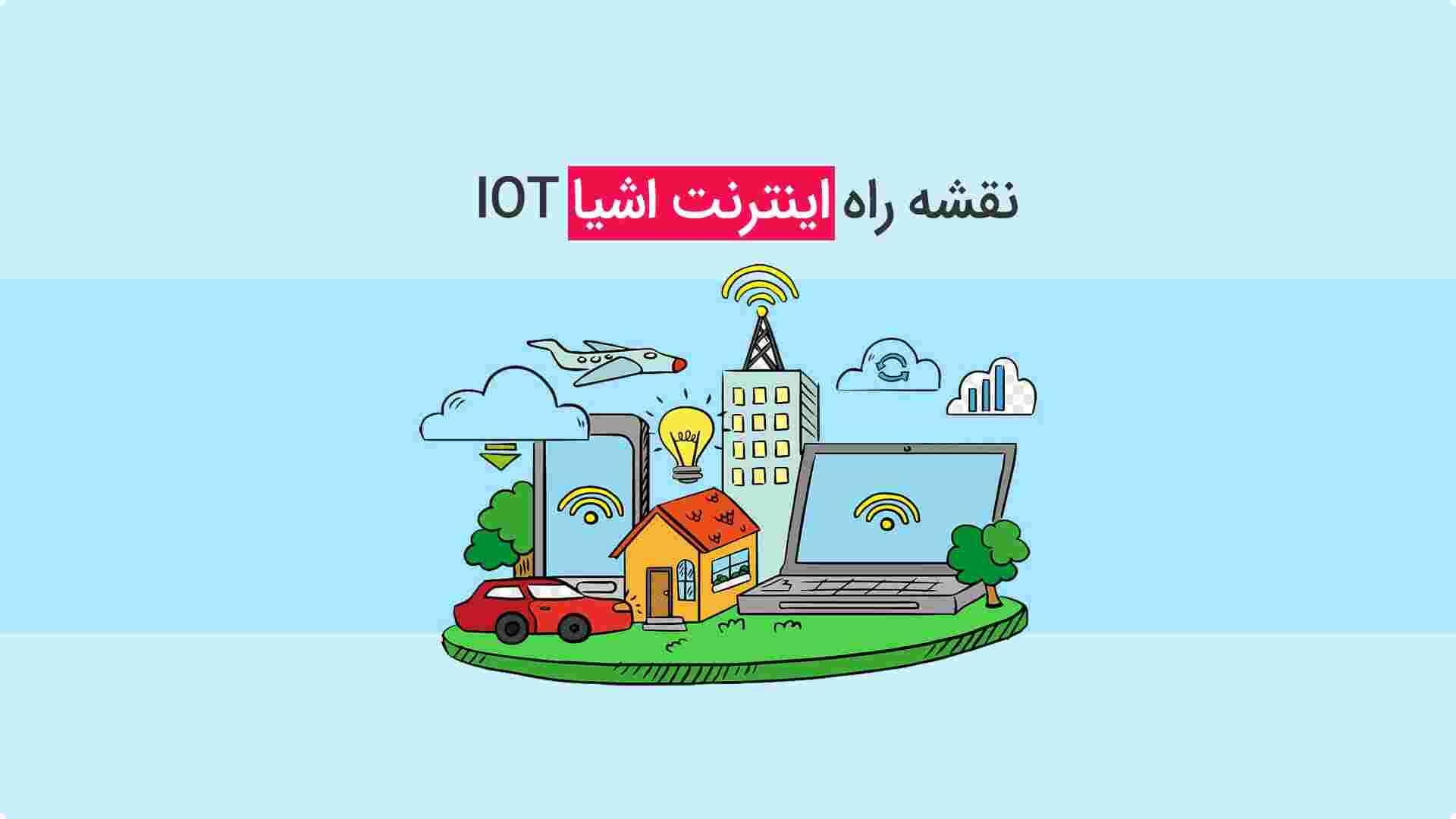 نقشه راه اینترنت اشیا IOT – مسیر یادگیری اینترنت اشیا
