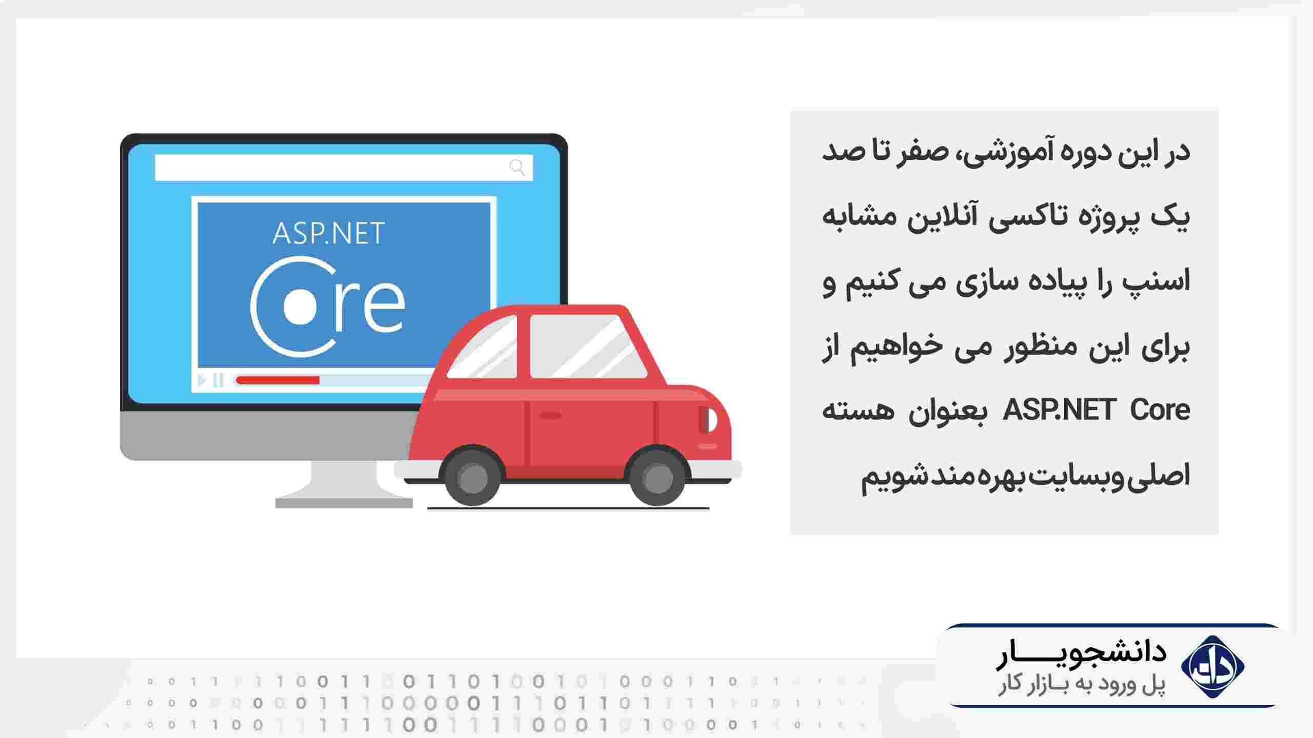 دوره پروژه بزرگ تاکسی آنلاین مشابه اسنپ