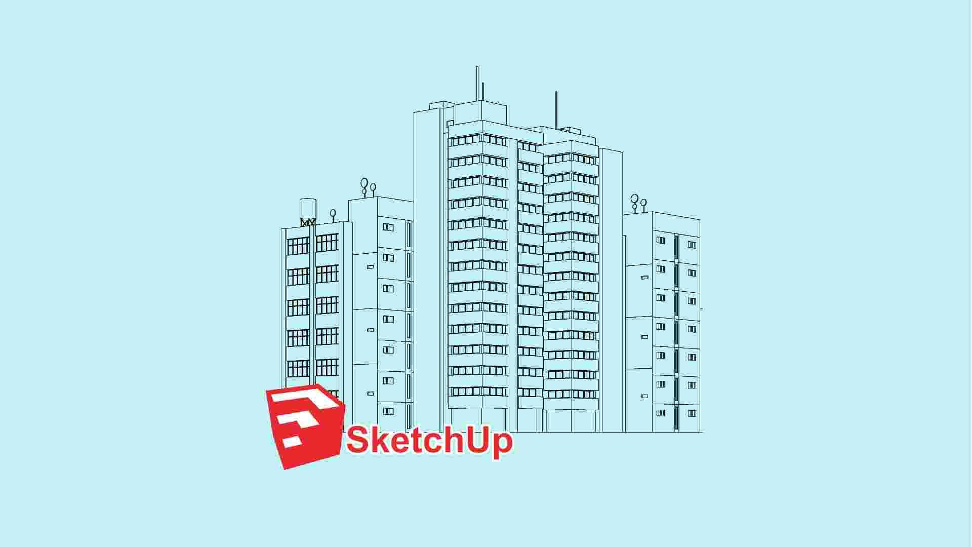 دوره آموزشی نرم افزار Sketchup   اسکچاپ