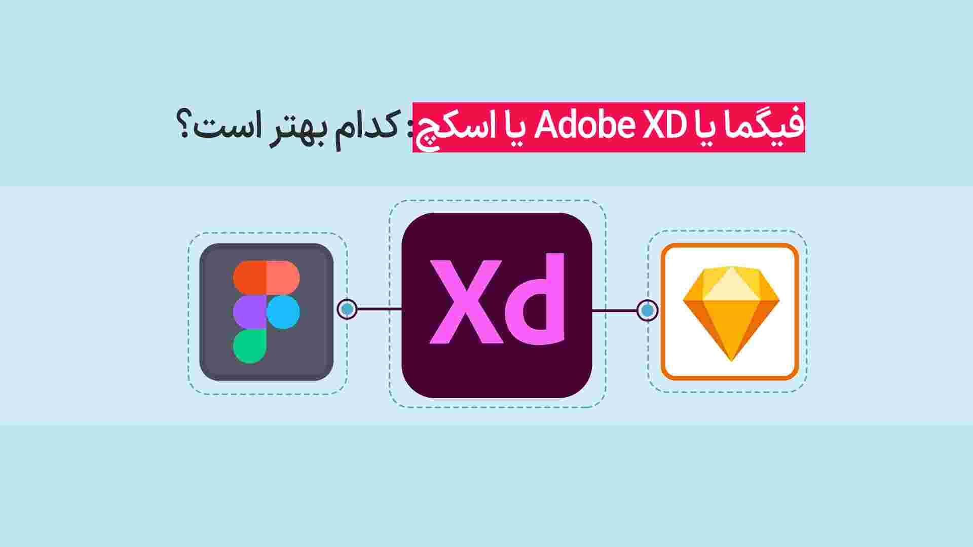 فیگما یا Adobe XD یا اسکچ: کدام بهتر است؟| فیگما یا XD